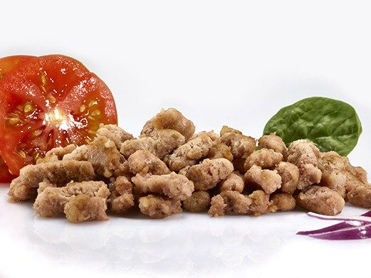 Mix porc/bœuf + légumes cuits 25% MG